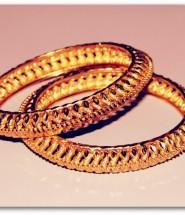 Magnifique bracelet en or jaune.